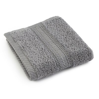 Staybright Solid Wash Cloth Color: Monument Gray