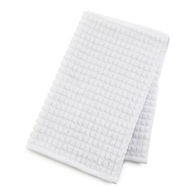 Staybright Textured Hand Towel Color: Optical White