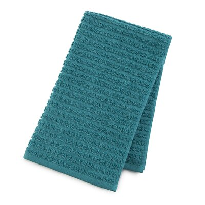 Staybright Textured Hand Towel Color: Peacock