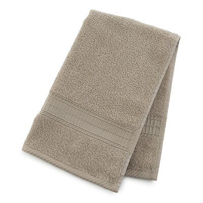 Staybright Solid Hand Towel Color: Latte