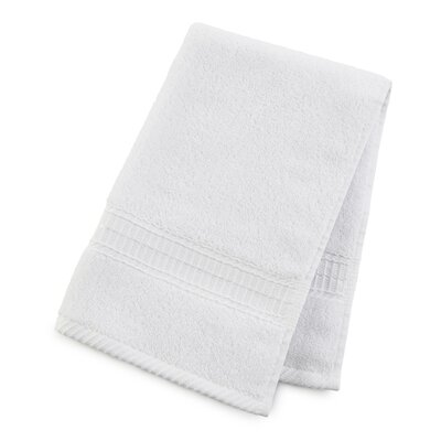 Staybright Solid Hand Towel Color: Optical White