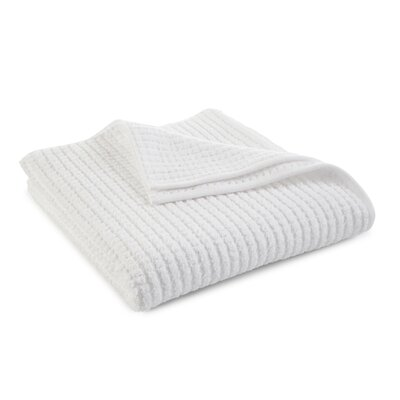 Staybright Textured Bath Towel Color: Optical White
