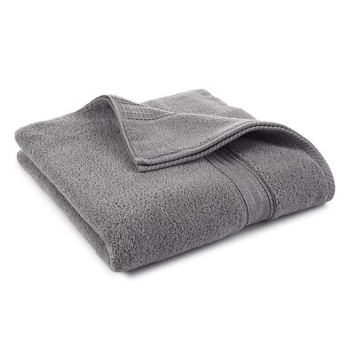 Staybright Solid Bath Towel Color: Monument Gray