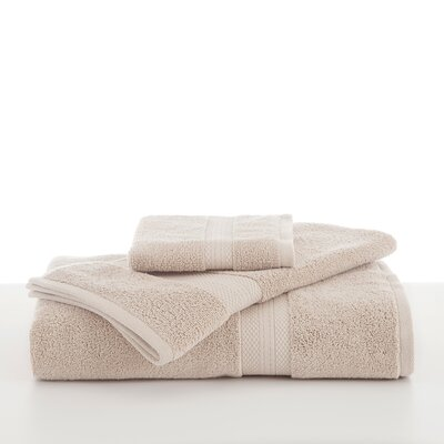 Abundance Wash Cloth Color: Cream