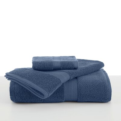 Abundance Wash Cloth Color: Blue