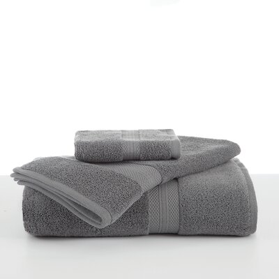 Abundance Wash Cloth Color: Boulder Gray
