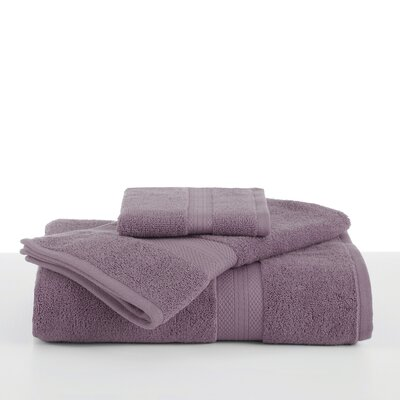 Abundance Bath Towel Color: Plum