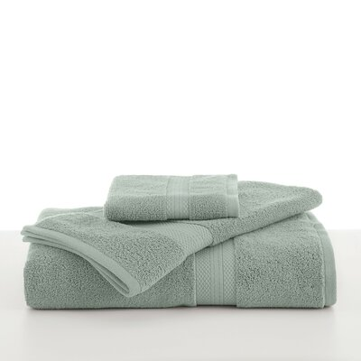 Abundance Bath Towel Color: Silver Sage