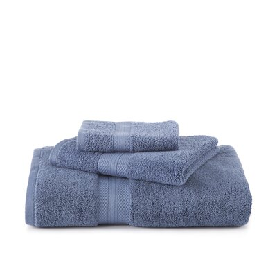 Abundance Hand Towel Color: Blue