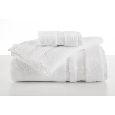 Supima Luxe Bath Towel Color: Optical White