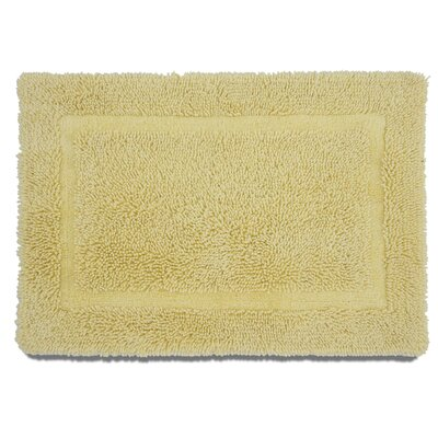 Ringspun Bath Rug Color: Lemon