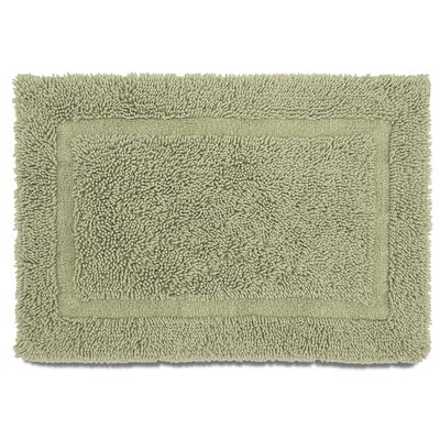 Ringspun Bath Rug Color: Sea Green