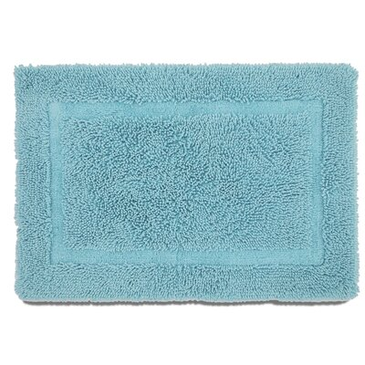 Ringspun Bath Rug Color: Island Blue