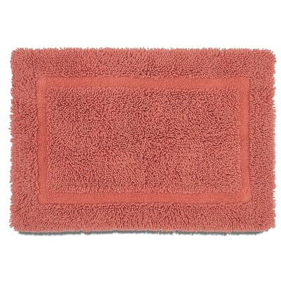 Ringspun Bath Rug Color: Coral