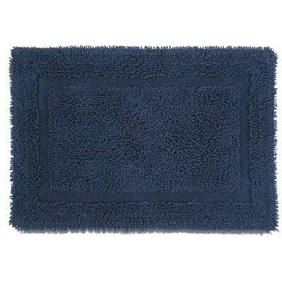 Ringspun Bath Rug Color: Midnight