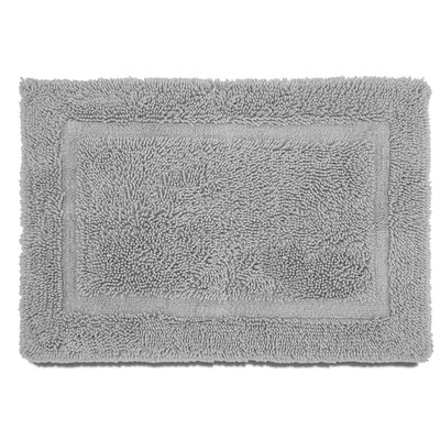 Ringspun Bath Rug Color: Silver