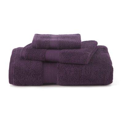 Abundance Bath Towel Color: Black Plum