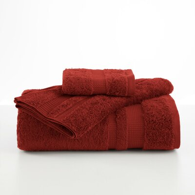 Supima Luxe Wash Cloth Color: Garnet
