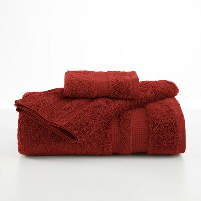 Supima Luxe Hand Towel Color: Garnet