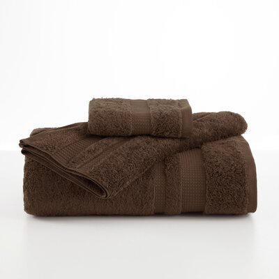 Supima Luxe Hand Towel Color: Dark Brown
