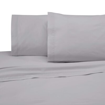 225 Thread Count Pillowcase Color: Light Gray