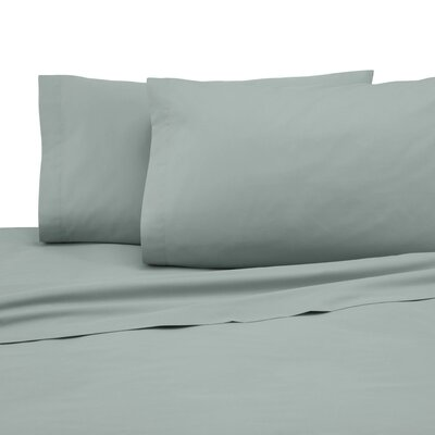 225 Thread Count Pillowcase Color: Sage