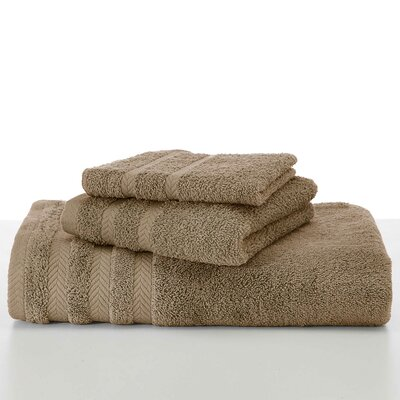 Egyptian Bath Towel Color: Pine Bark