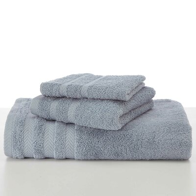 Egyptian Hand Towel Color: Dusty Blue