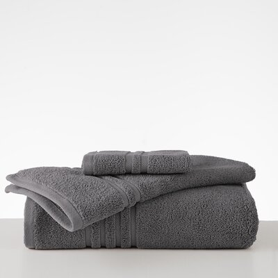 Black Label Hand Towel Color: Charcoal