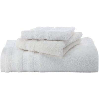 Egyptian Bath Towel Color: White
