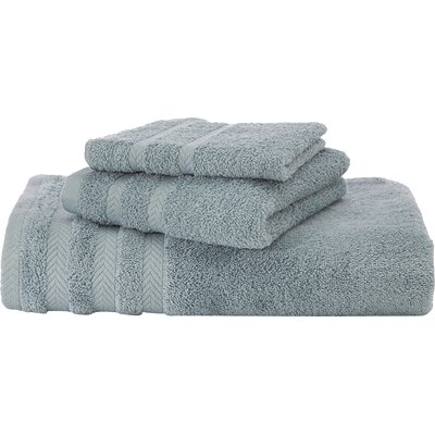 Egyptian Bath Towel Color: Mineral Blue