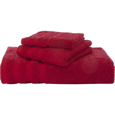 Egyptian Bath Towel Color: Red