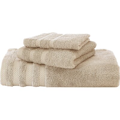 Egyptian Hand Towel Color: Sand�/ Double Cream
