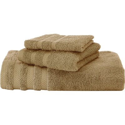 Egyptian Hand Towel Color: Pine Bark