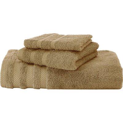 Egyptian Hand Towel Color: Pine Bark