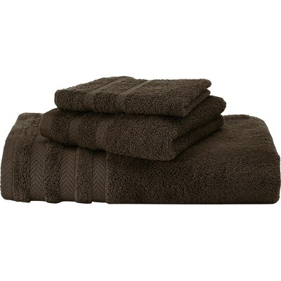 Egyptian Hand Towel Color: Dark Brown