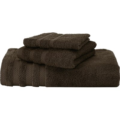 Egyptian Bath Towel Color: Dark Brown