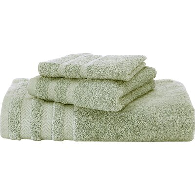 Egyptian Bath Towel Color: Soft Jade