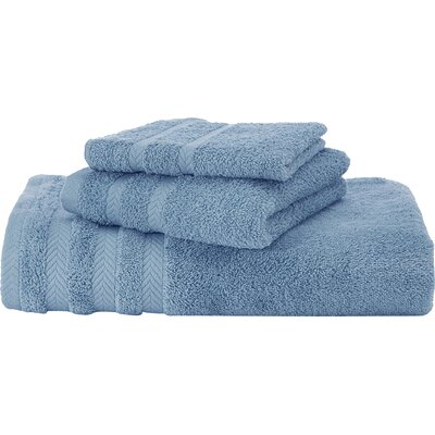 Egyptian Bath Towel Color: French Blue