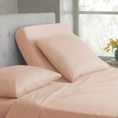 400 Thread Count Cotton Sheet Set Color: Peach Blush