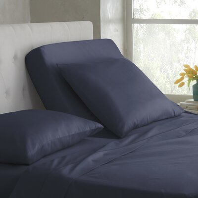 400 Thread Count Cotton Sheet Set Color: Mood Indigo