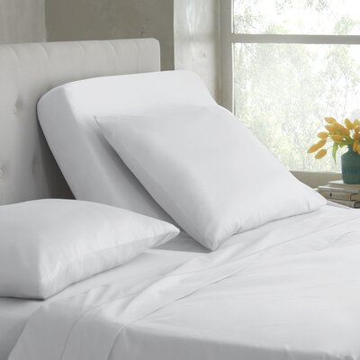 400 Thread Count Cotton Sheet Set Color: White