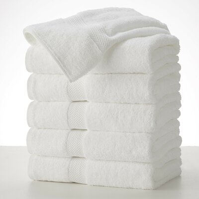 Commercial Bath Towel Color: White