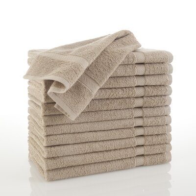 Commercial Hand Towel Color: Khaki