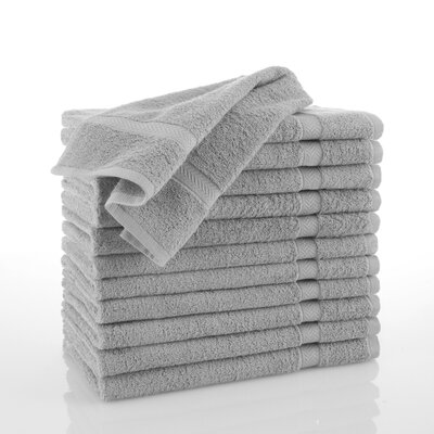 Commercial Hand Towel Color: Gray