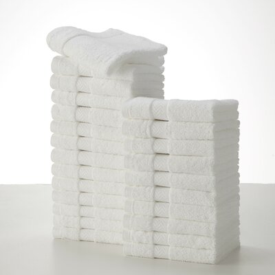 Commercial Wash Cloth Color: White