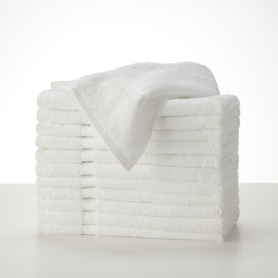 Commercial Hand Towel Color: White