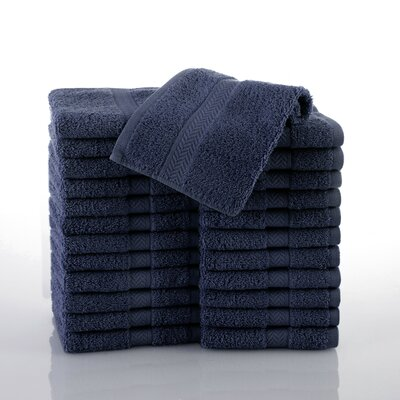 Commercial Wash Cloth Color: Navy
