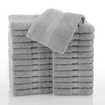 Commercial Wash Cloth Color: Gray