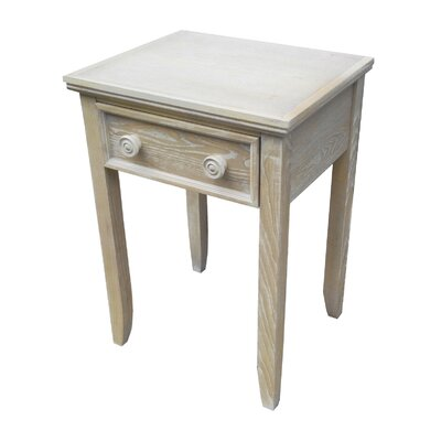 Emilie 1 Drawer Nightstand